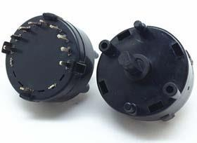 Rotary rotary switch
